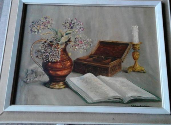 schilderij doos