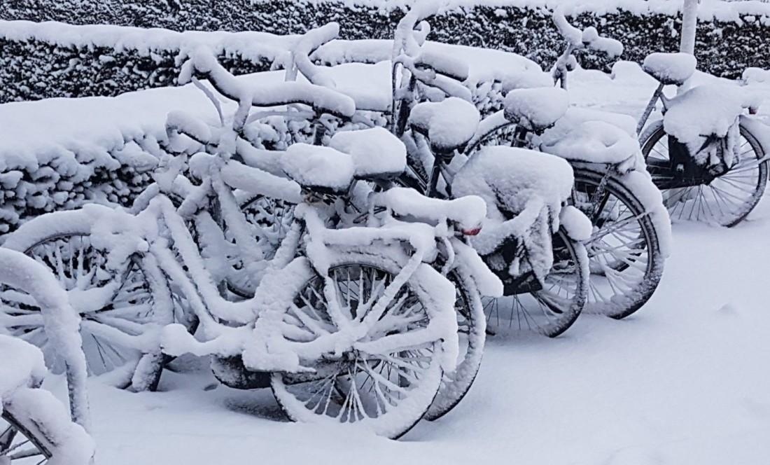 sneeuwfiets