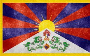 Tibetaanse-vlag