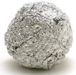 zilverpapier